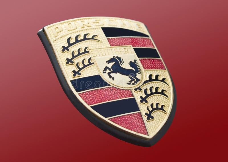 Porsche-Logo stockfotografie