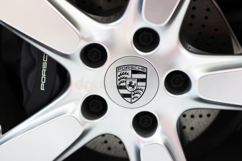 Porsche logo obraz stock