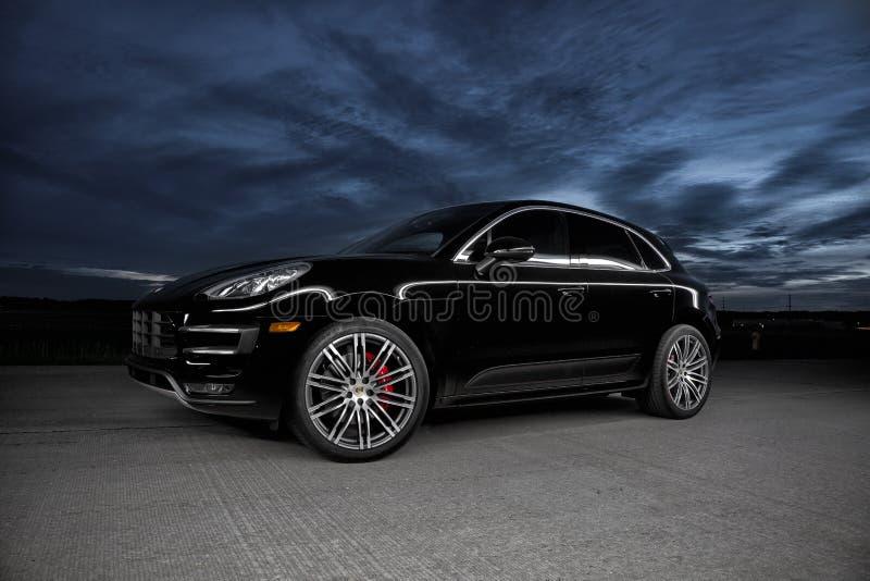 Porsche 2015 Macan Turbo photos libres de droits