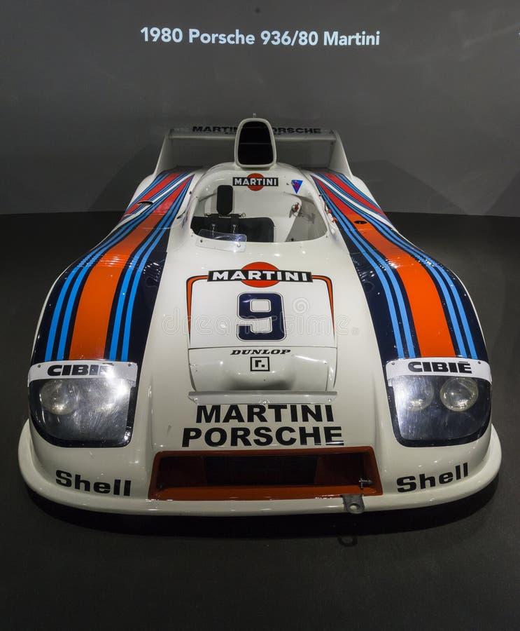 Porsche 1980 936 Martini image libre de droits