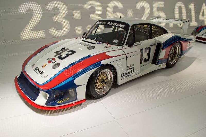 Porsche 935 Moby Dick stockbilder