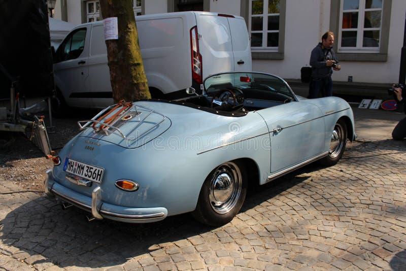 Porsche-Oldtimerauto in Kettwig, Bezirk von Essen lizenzfreies stockfoto