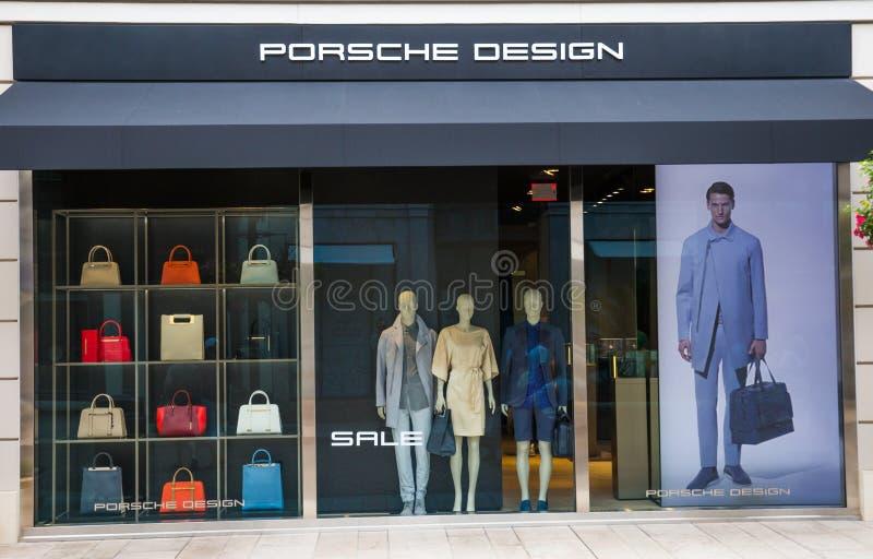 Porsche-Ontwerp stock afbeelding