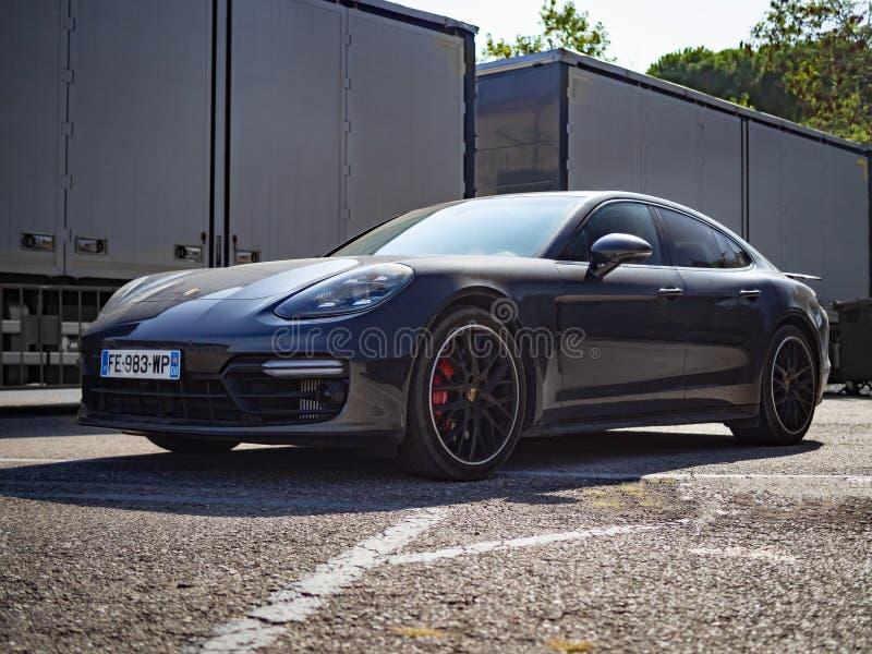 Porsche Panamera GTS imagen de archivo