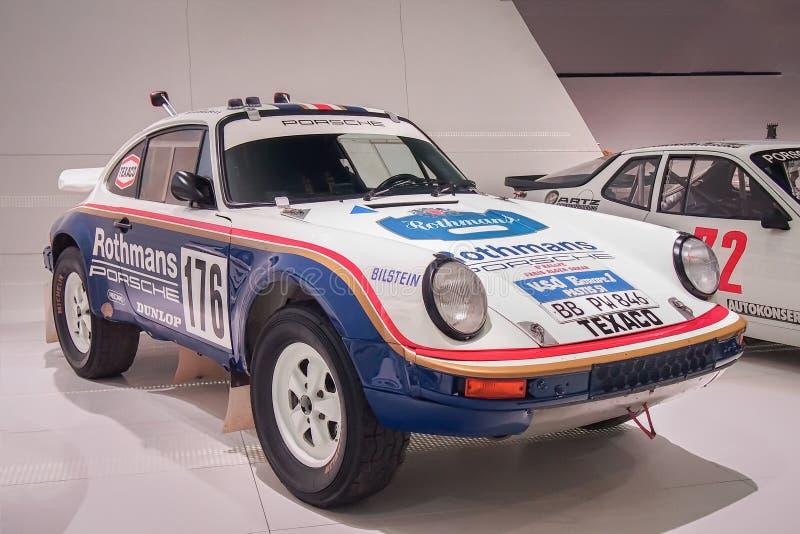 Porsche 911 953 Paris Dacar foto de stock royalty free
