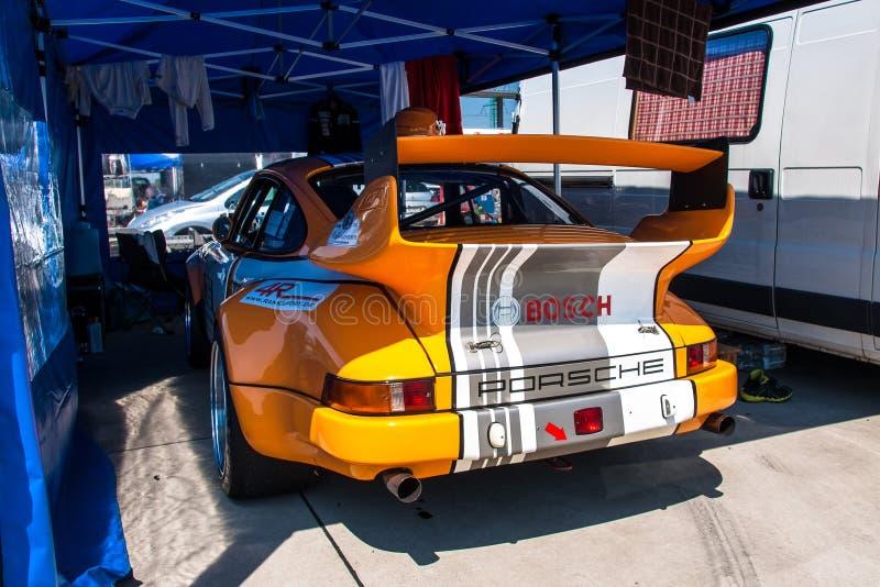 Porsche 911 racing car stock photography