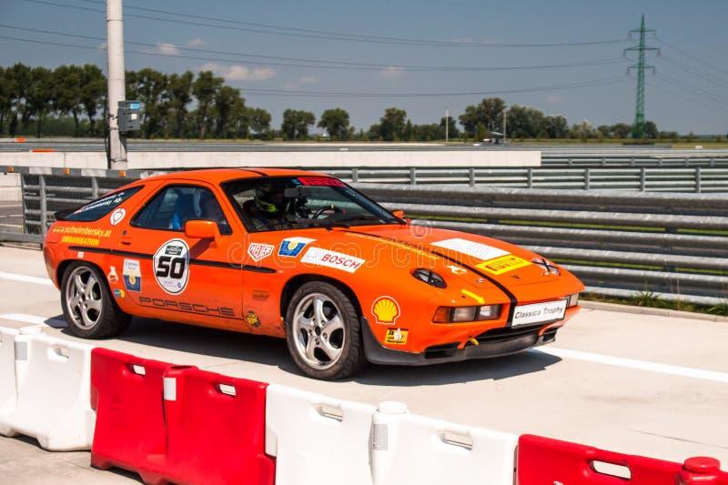 Porsche 928 racing car royalty free stock images