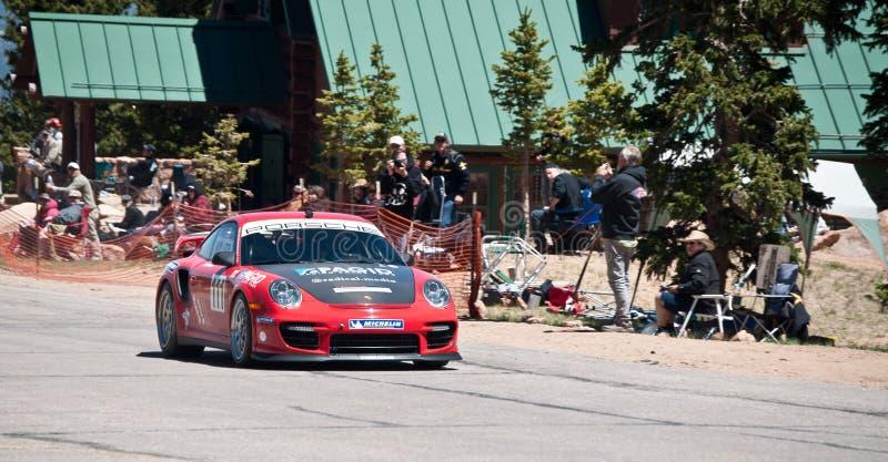 Porsche rapide photos libres de droits