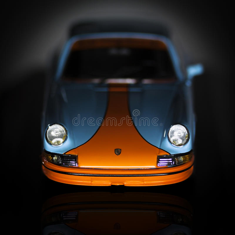 Porsche 911 Rs gulf racing stock images