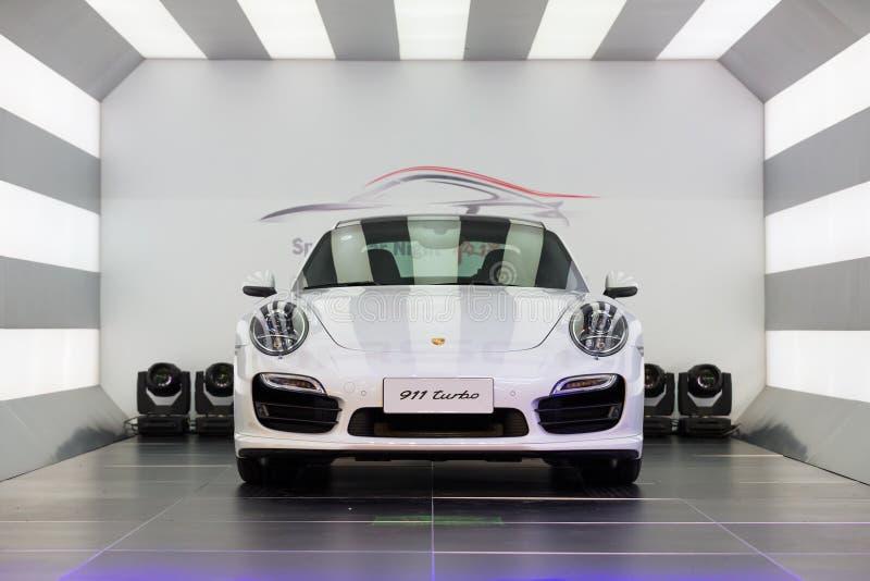 Porsche samochód dla sprzedaży obraz royalty free