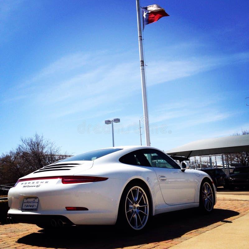 Porsche Flag Editorial Stock Image. Image Of Luxury