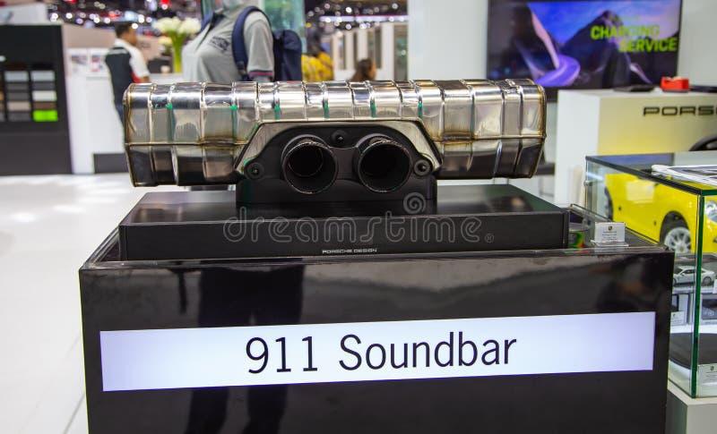 Porsche 911 Soundbar fotografie stock libere da diritti