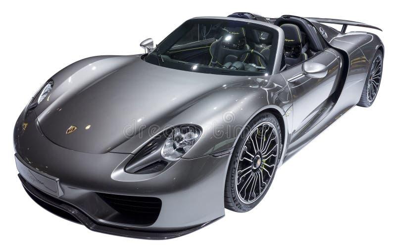 Porsche-Sportwagen royalty-vrije stock afbeelding