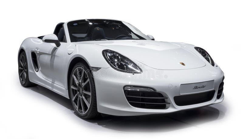Porsche-Sportwagen stock afbeelding