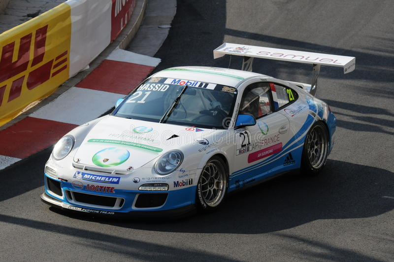 Porsche supercup Monaco stock image