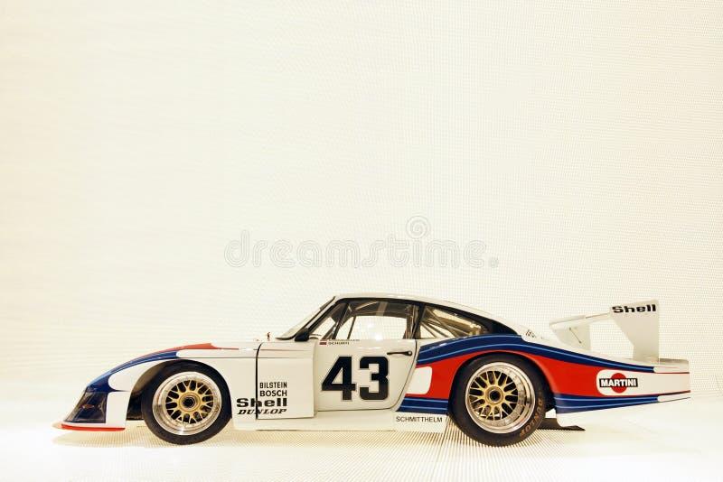 Porsche-Superrennwagen lizenzfreies stockfoto