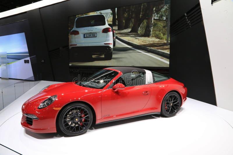 Porsche Targa arkivfoton