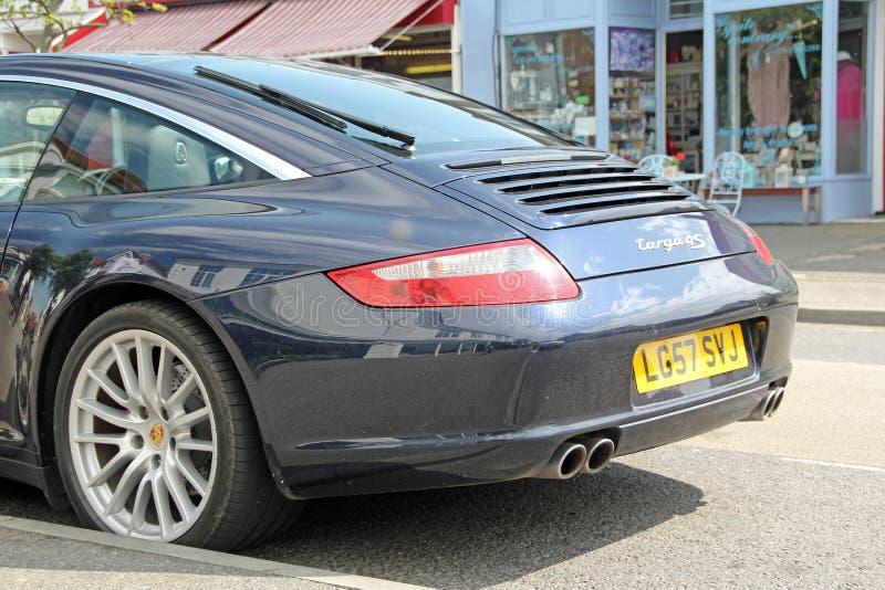Porsche-targa 4s sportscar lizenzfreie stockbilder