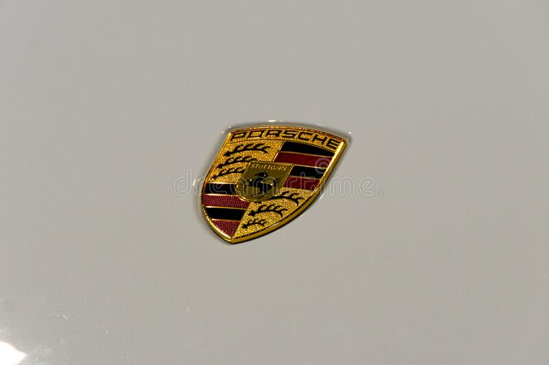 Porsche Taycan royalty free stock image