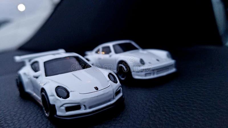 Porsche tillbakablick royaltyfri foto