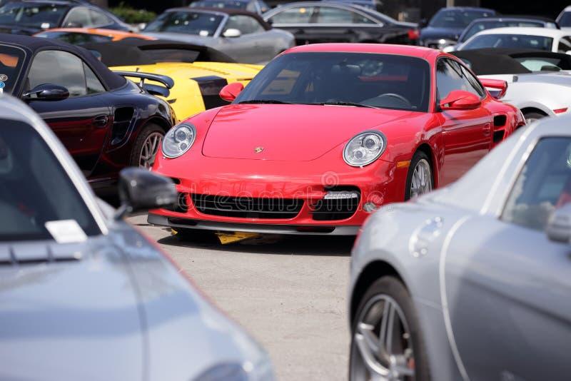 Porsche Turbo image libre de droits
