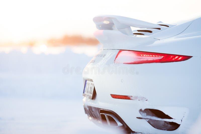 PORSCHE 911 TURBO stockbild