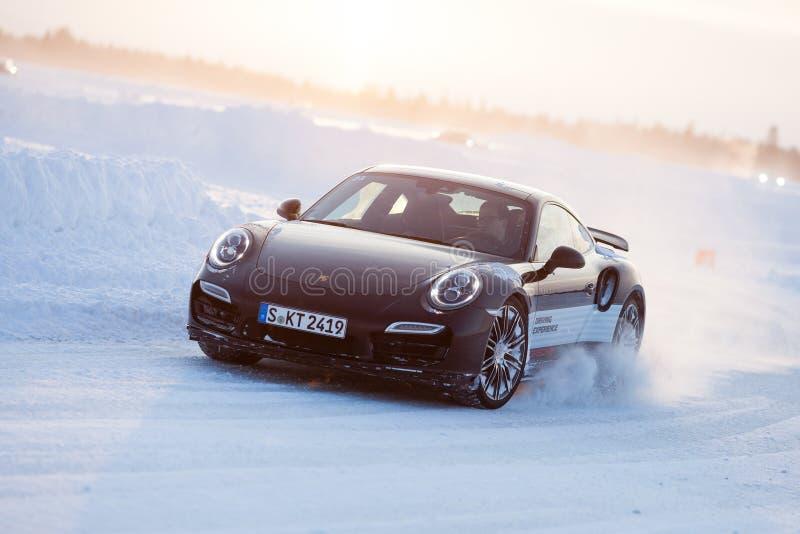 PORSCHE 911 TURBO lizenzfreies stockfoto