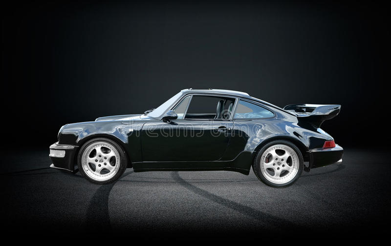 Porsche 911 Turbo imagens de stock