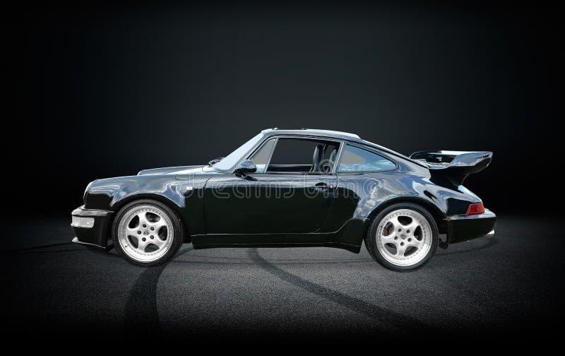 Porsche 911 Turbo. A classic Porsche 911 Turbo stock images