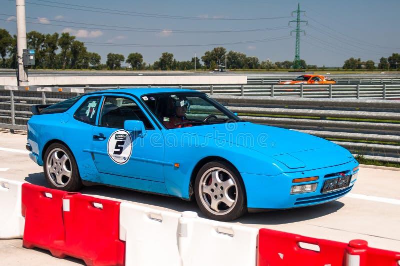Porsche 944 Turbo race car stock image