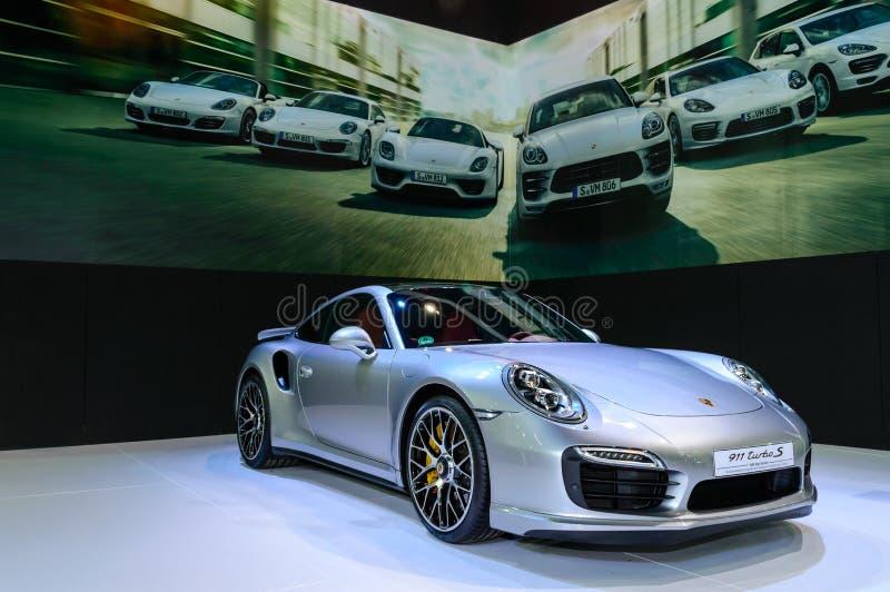 Download Porsche 911 Turbo S. editorial stock image. Image of auto - 39503139