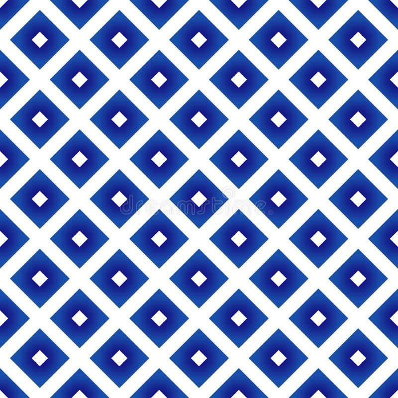 Porselein Thais patroon royalty-vrije illustratie