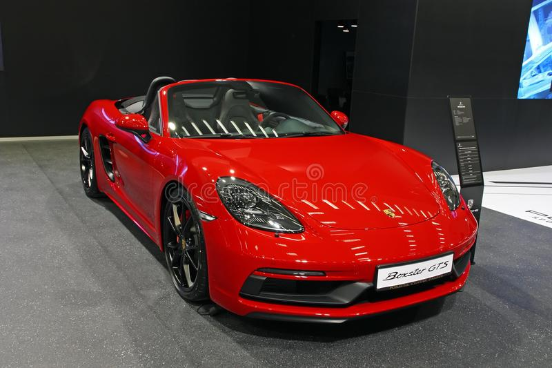 Porshe Boxster GTS images stock