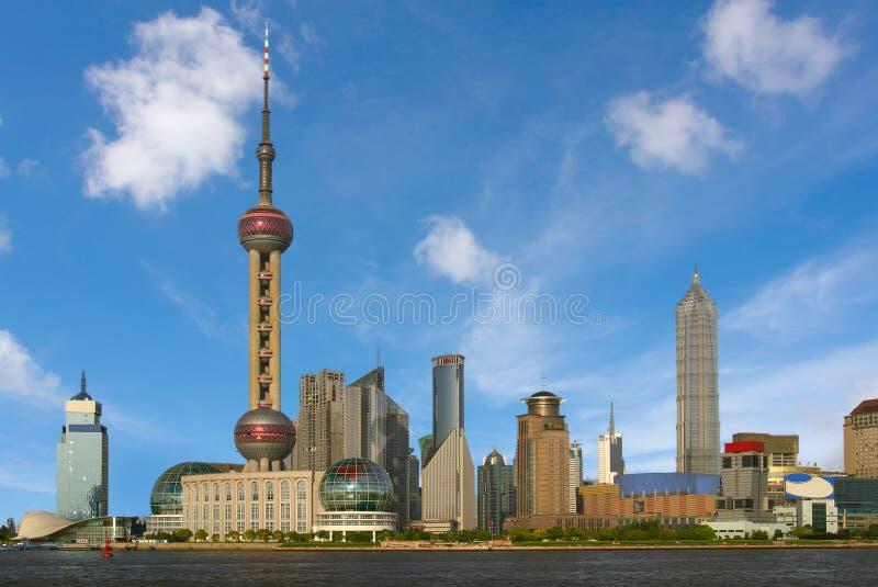 porslin shanghai royaltyfri fotografi