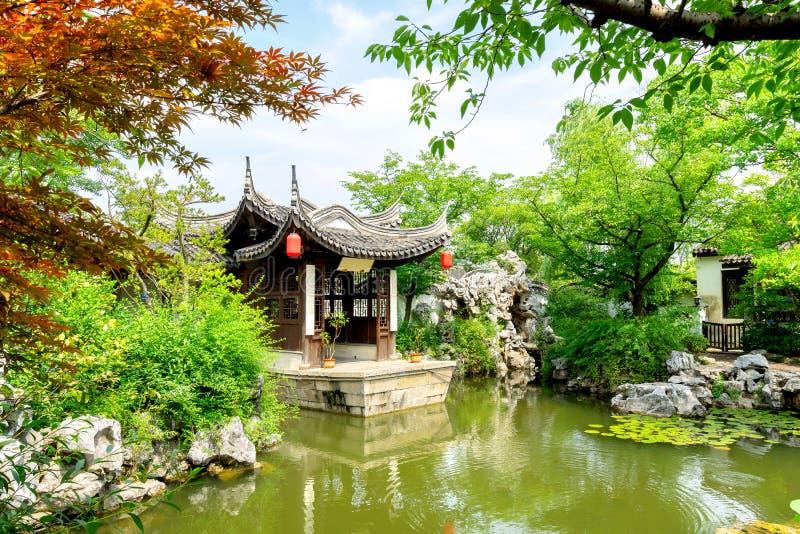 porslin trädgårds- suzhou fotografering för bildbyråer