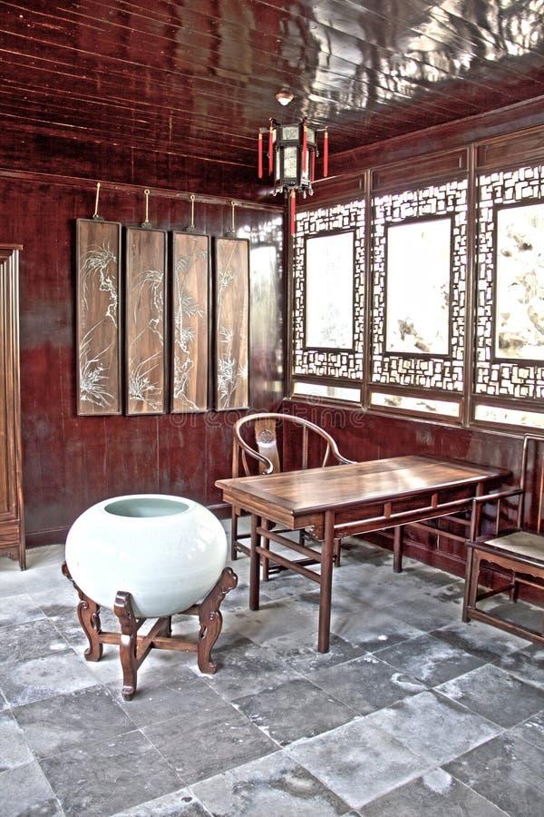 porslin trädgårds- suzhou royaltyfri fotografi