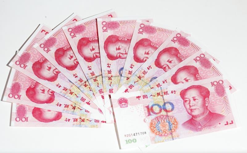 porslin yuan arkivfoto