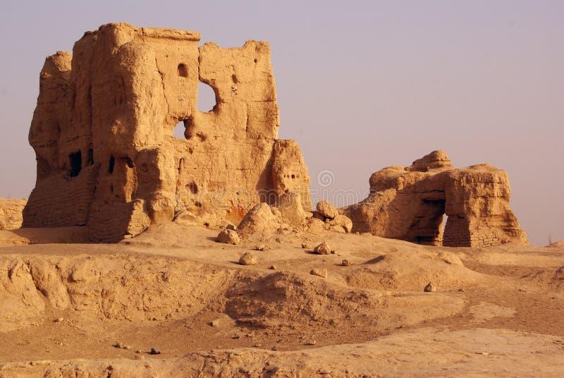 porslinet houses jiaohe två arkivbild
