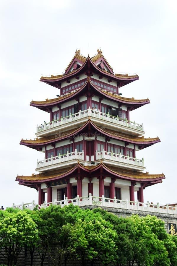 porslinpagoda arkivbild