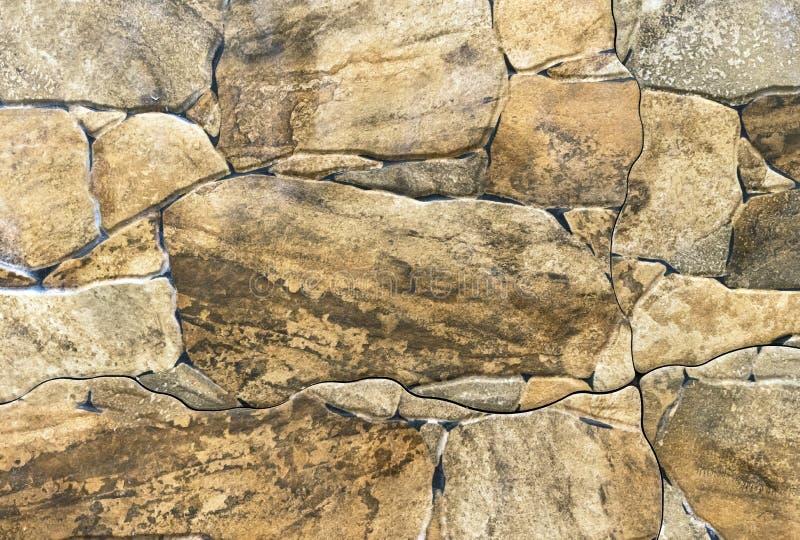 Porslinstengodstegelplattor av olika former och format för stenar royaltyfri fotografi