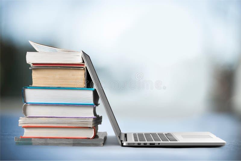 Portátil da educação imagens de stock royalty free