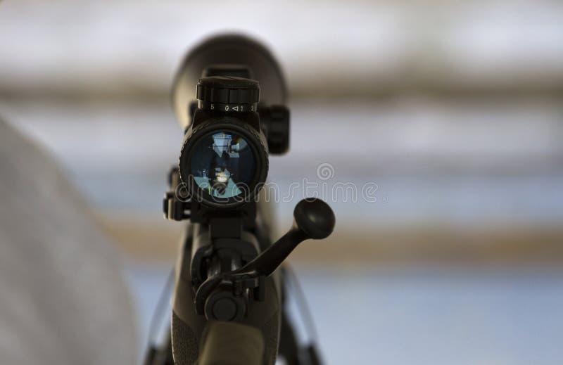 Portée de fusil images libres de droits