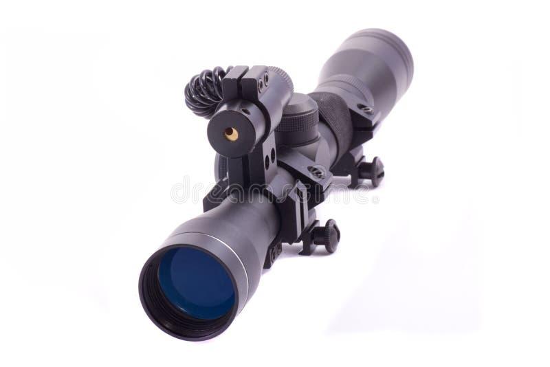 Portée de fusil de laser images libres de droits