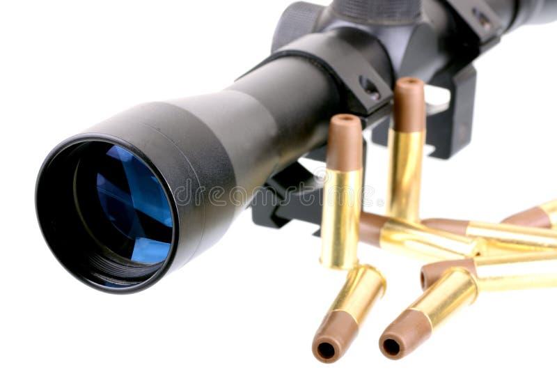 Portée et balles photo libre de droits