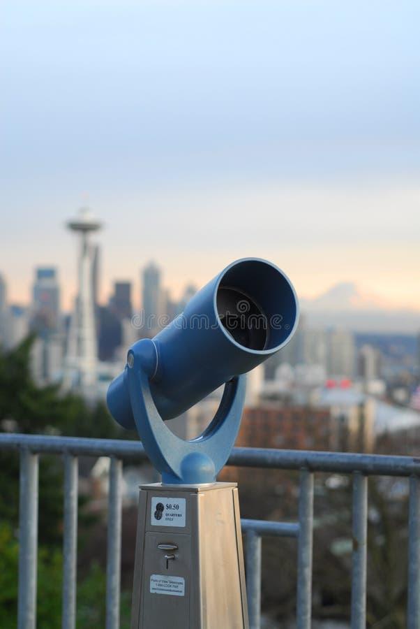 Portée Seattle image stock