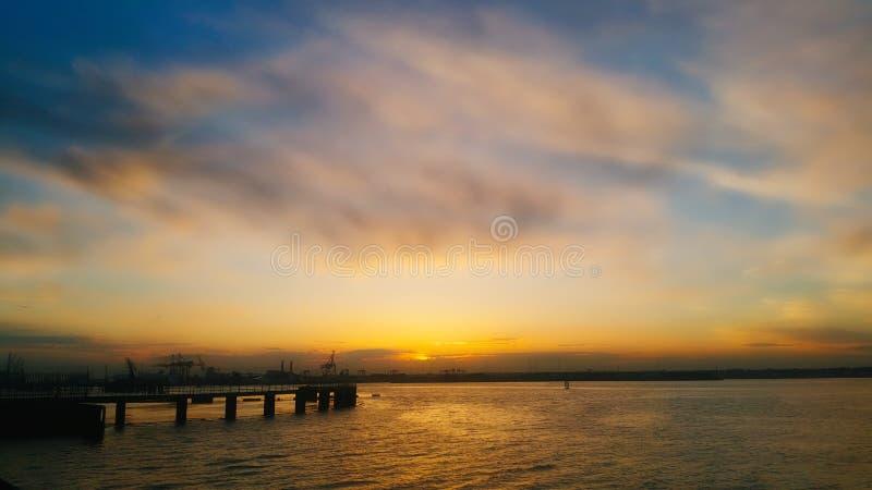 Port à Dublin photos stock
