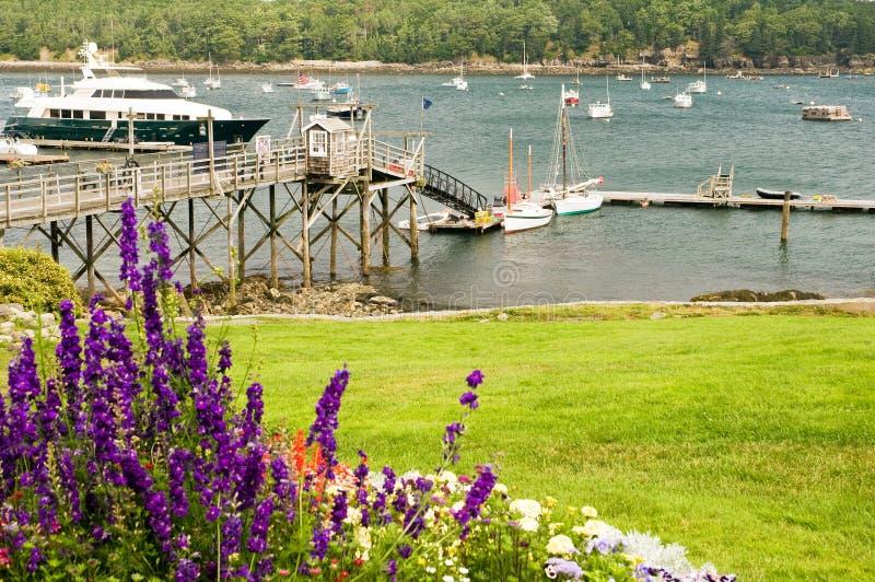 Port étrange de la Nouvelle Angleterre photographie stock