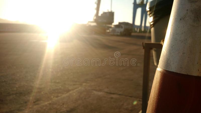 Port1 fotografia stock