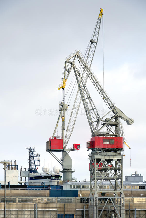 Download Port. stock image. Image of cranes, logistic, cargo, iron - 29030863