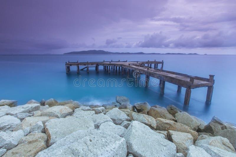 Download Port image stock. Image du vacances, été, bleu, solitude - 45357813